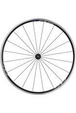 Shimano Wheel700 Shimano WH-RS100 clincher wheel, 100 mm Q/R axle, front, black