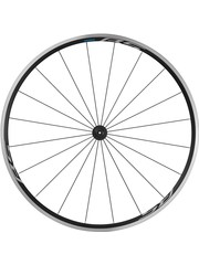 Shimano Wheel700c Shimano WH-RS100 clincher wheel, 100 mm Q/R axle, front, 700c black