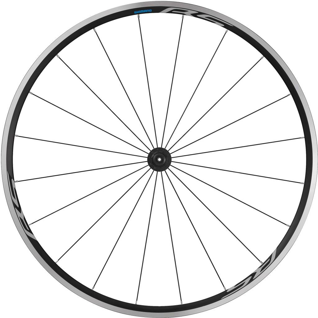 Shimano Wheel700c Shimano WH-RS100 clincher wheel, 100 mm Q/R axle, front, black