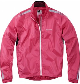 Madison Madison Pac-it womens showerproof jacket, very berry