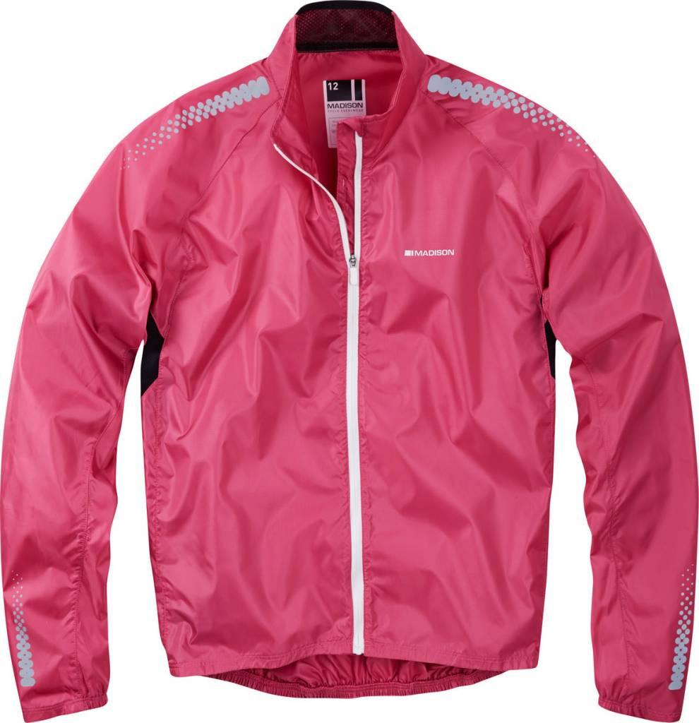 Madison Madison Pac-it womens showerproof jacket, very berry
