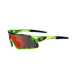Tifosi SUNGLASSES TIFOSI DAVOS INTERCHANGEABLE CLARION RED LENS 2019: CRYSTAL NEON GREEN FRAME