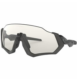 Oakley OAKLEY FLIGHT JACKET STEEL/BLACK WITH PHOTOCHROMIC LENS