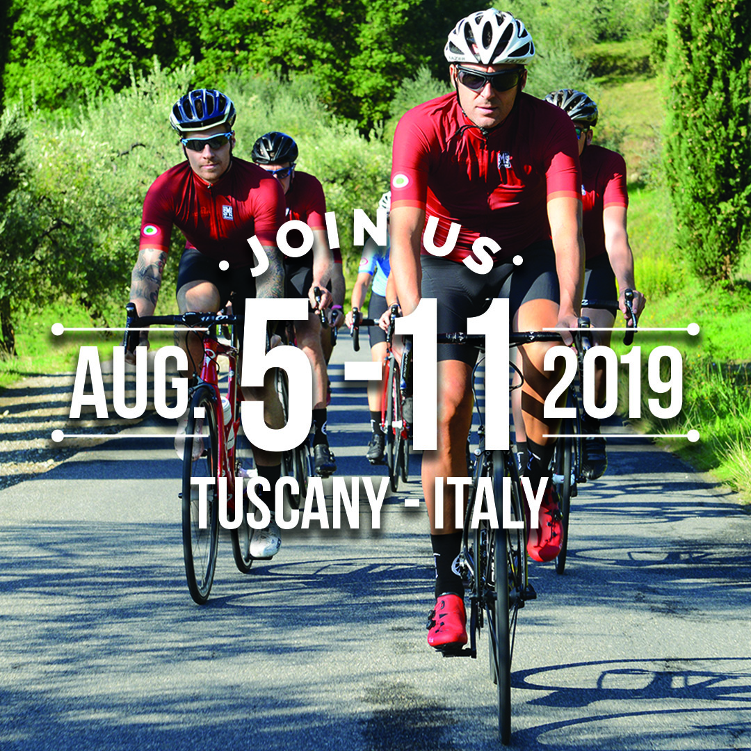 cycling tour in italy