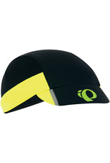Pearl Izumi PEARL iZUMi Unisex Transfer Cycling Cap, Black/Screaming Yellow, One Size