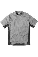 Madison Madison Trail mens short sleeved jersey, Cloud Grey