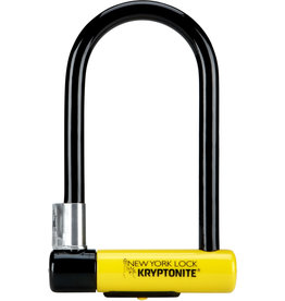 Kryptonite Kryptonite New York Standard Nyl Lock With Flexframe Bracket Sold Secure Gold Black / Yellow Standard