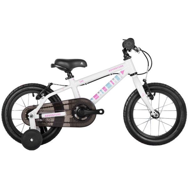 Adventure Adventure 140 Girls Bike from 2 years  2020 14w White/Pink