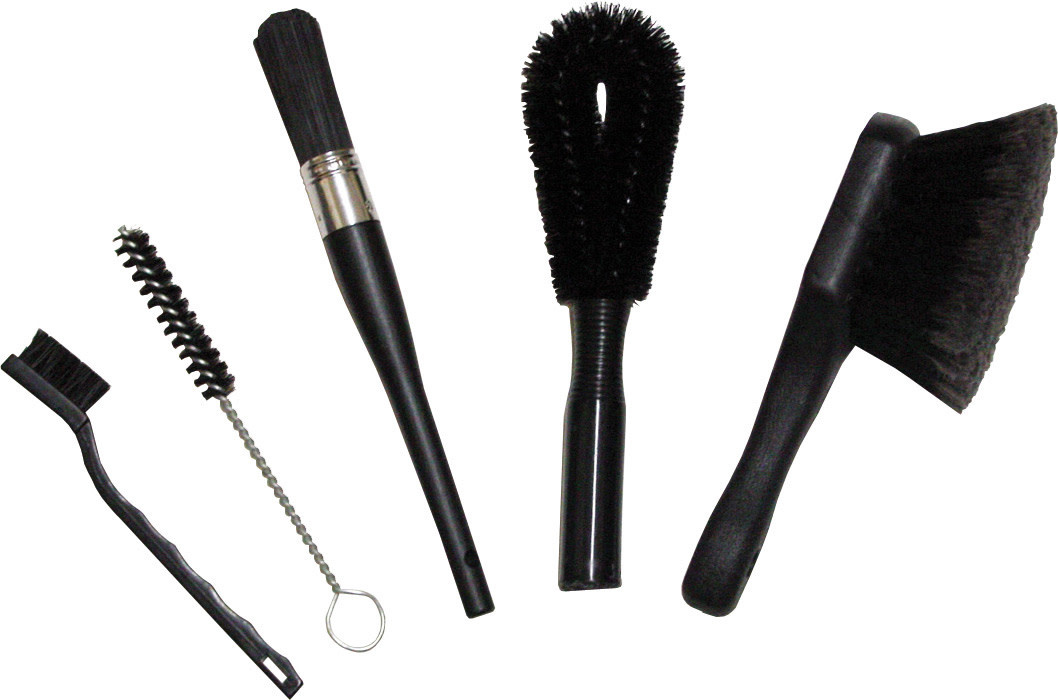 Finish Line Finish Line Cleaning Brush Set, 5 different brushes