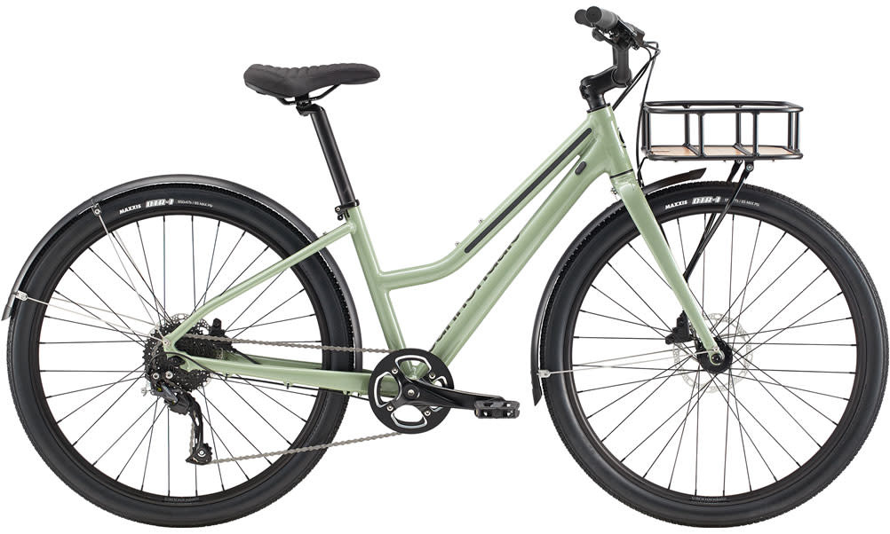 Cannondale Cannondale Treadwell EQ Remixte City Bike Womens 2020 Light Green