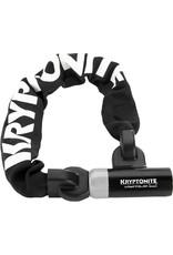 Kryptonite Kryptonite Kryptolok 955 Integrated Chain - 9.5 mm X 55 cm Sold Secure Silver
