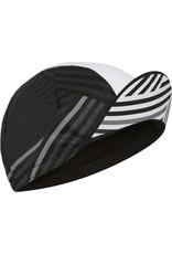 Madison Madison Sportive poly cotton cap, crosshatch black / white one size Black / White One Size