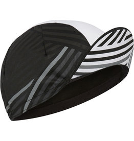 Madison Madison Sportive poly cotton cap, crosshatch black / white one size Black / White One Size