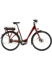 Ridgeback Electric Bike Ridgeback Electron Plus 2020/2021 Red (ETA Feb 2021)