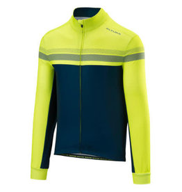 Altura Altura Nightvision 4 Long Sleeve Jersey Mens Hi-viz Yellow/Blue 2020