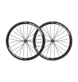 Mavic Mavic Aksium Elite Wheelset UST 12mm thru Axle Center-Lock Disc Tubeless (Pair) 2019 with Hutchinson Fusion 5 Tubeless ready Tyres