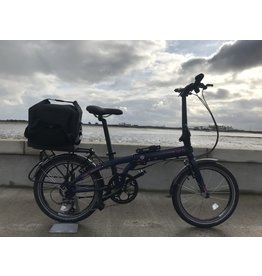 SECOND HAND S/H BIKE TERN LINK D8 20W FOLDING BIKE MIDNIGHT (MUDGUARDS+CARRIER+PANNIER INCLUDED) *PRIVATE SALE*