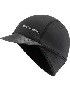 Madison Madison RoadRace optimus winter cap (skull cap with peak), Black One Size