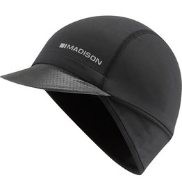 Madison Madison RoadRace optimus winter cap (skull cap with peak), Black One Size