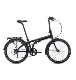 TERN Tern Node D8 24w 8spd Folding Bike Black/Grey (mudguards and carrier rack included)