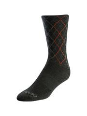 Pearl Izumi Pearl Izumi Unisex Merino Tall Socks, Forest / Flame