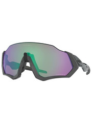 Oakley Oakley Flight Jacket Steel - Prizm Road Jade lens