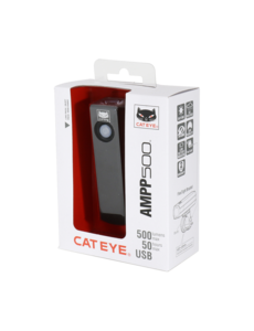 CatEye FRONT LIGHT CATEYE AMPP 500 USB RECHARGABLE