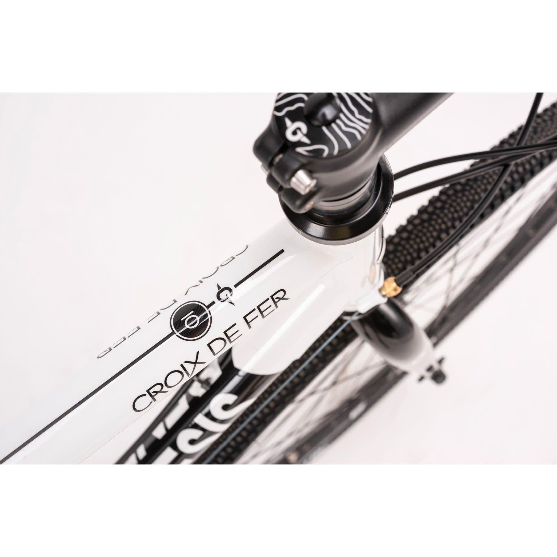 Genesis Genesis Croix de Fer 10 Drop Bar White/Black 2020