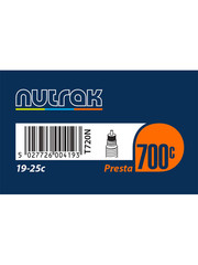 Nutrak Tube700 Road  700 x 19-25C Presta (42mm Valve)