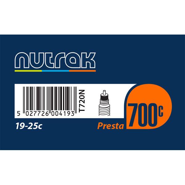 Nutrak Tube700 Road  700 x 19-25C Presta (42mm Valve)