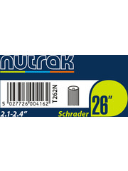 Nutrak Tube26 26 x 2.1 - 2.4 Schrader (single)