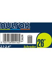 Nutrak Inner Tube 26 x 2.10 – 2.40, Schrader Valve, (tube26) (single)