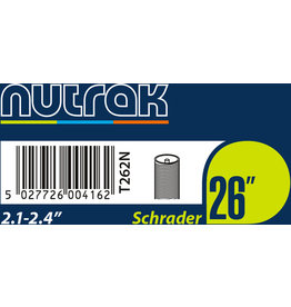 Nutrak Tube26 26 x 2.1 - 2.4 Schrader (single)