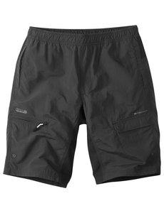 Madison Madison Freewheel Mens Baggy Shorts With Liner Black
