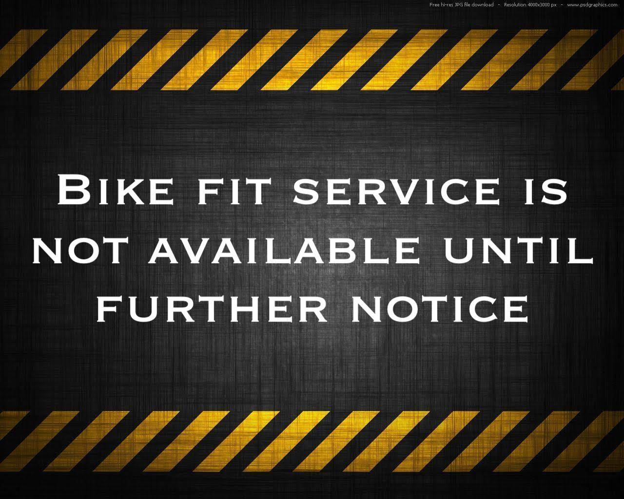 Bike Fit Services