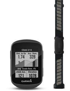 Garmin Garmin Edge 130 Plus GPS Computer - Performance Bundle (includes HR Strap and Standard Mount) 2020