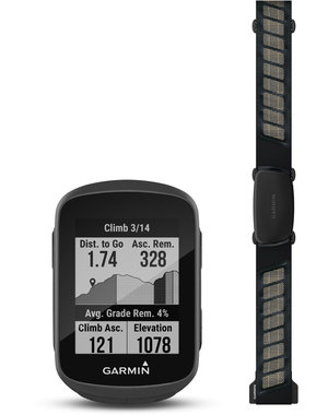 Garmin Garmin Edge 130 Plus GPS Computer - Performance Bundle (includes HR Strap and Standard Mount)