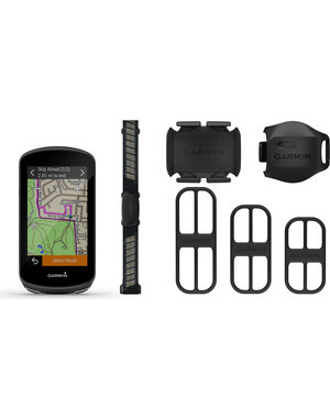 Garmin Garmin Edge 1030 Plus GPS Computer - Performance Bundle (Includes all Sensors and Mount)