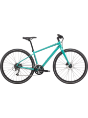 Cannondale Cannondale Quick Disc 3 Womens City Bike 2021 Turquoise