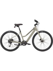 Cannondale Cannondale Treadwell Neo Remixte 650 2021 Electric Bike Open Frame Stealth Grey