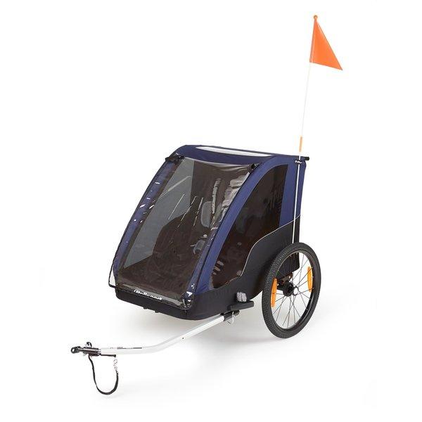 Polisport POLISPORT KIDS TRAILER (1 or 2 Kids), Stroller Kit Included