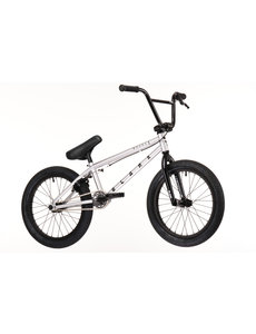 Blank Blank Hustla BMX Bike 2021 Silver 18w