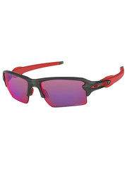 Oakley OAKLEY FLAK 2.0 XL PRIZM LENS SMOKE GREY/RED FRAME