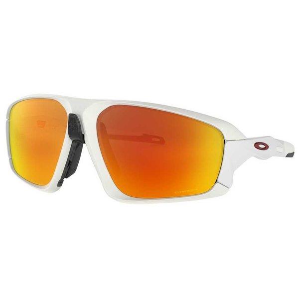 Oakley Oakley Field Jacket Matte White - Prizm Ruby Lens