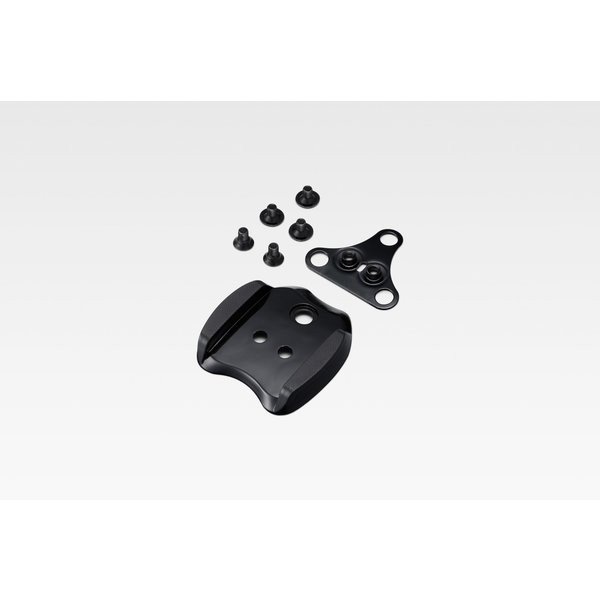 Shimano SHIMANO SM-SH41 Cleat adapter that enables the attachment of all 2 bolt SPD cleats onto a 3 or 5 hole road shoe