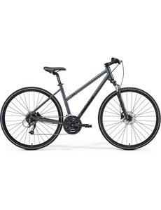 Merida Merida Crossway 40D Womens City Bike 2021 Grey/Black