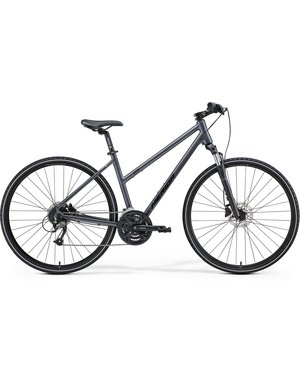 Merida Merida Crossway 40D Womens City Bike 2021 Grey/Black