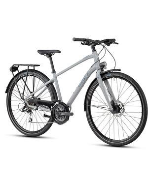 Ridgeback Ridgeback Element EQ City Bike (Mudguards, carrier rack, lights included) 2021 Grey (ETA June 2021)