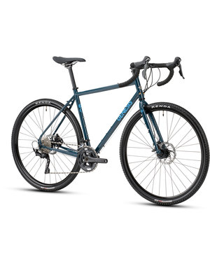 Genesis Genesis Croix De Fer 20 (Tiagra/RX400 10Sp Mechanical Disc) 2021 Dark Blue (ETA April 2021)