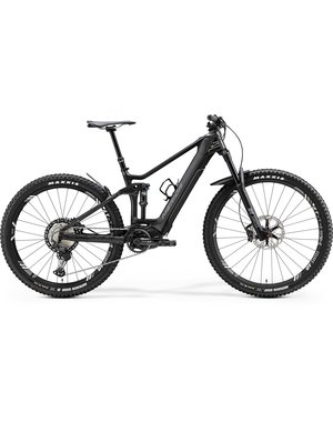 Merida Merida eOne-Forty 9000 Electric Dual Suspension Bike  2020 Gloss Anthracite/Matt Black